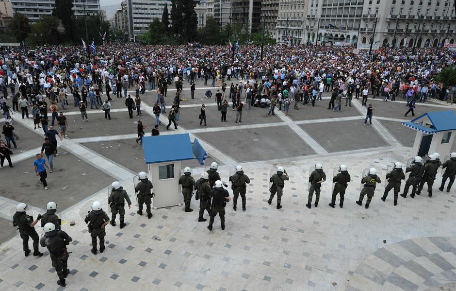 13 Протесты в Греции.