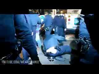 Подавление протеста в США.