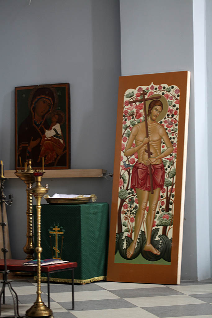 Северные диаконская дверь