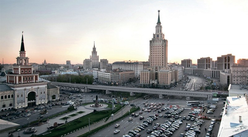 09. Проект реконструкции Каланчёвского путепровода. 2013 год