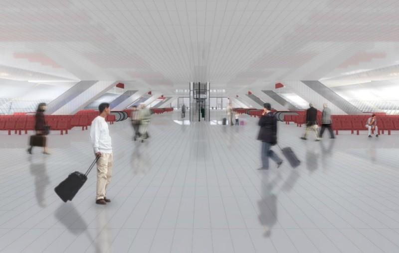 23. Проект реконструкции Курского вокзала. 2012 год. Проектно-строительное бюро Bulwark