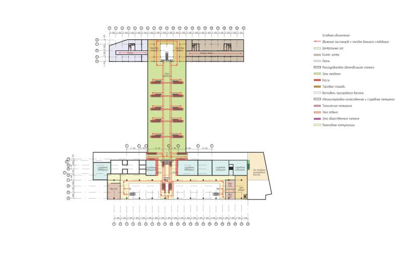 24. Проект реконструкции Курского вокзала. 2012 год. Проектно-строительное бюро Bulwark