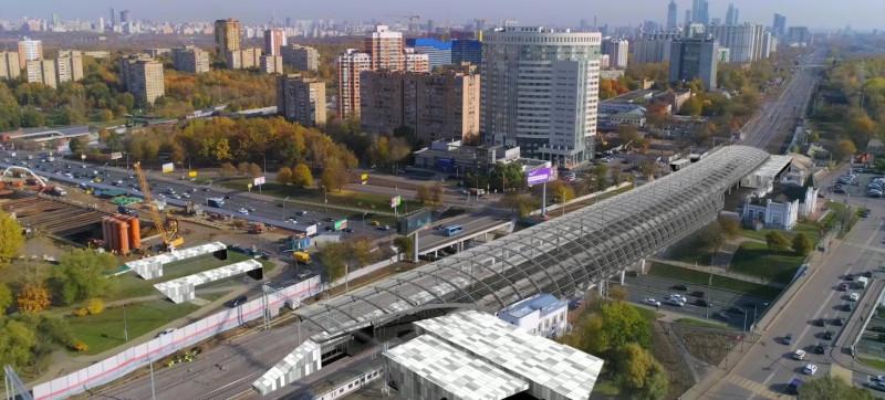 26. Проект платформы Кунцевская (Кунцево). Новый вариант. 2019 год