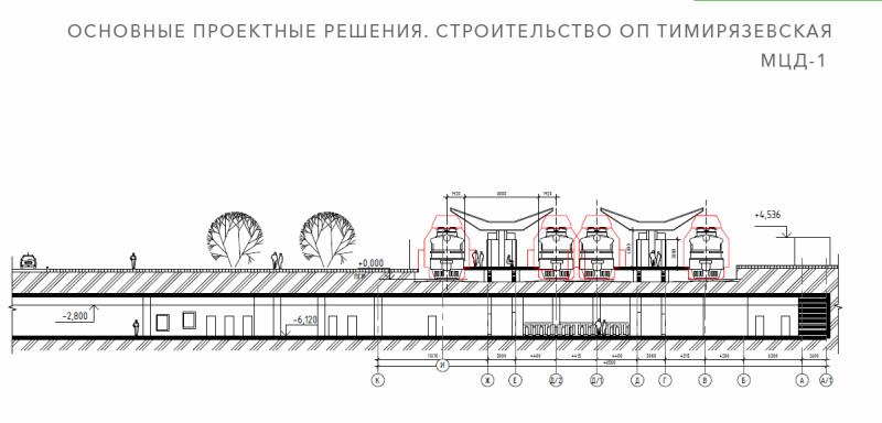 09. Проект реконструкции платформы Тимирязевская. 2020 год