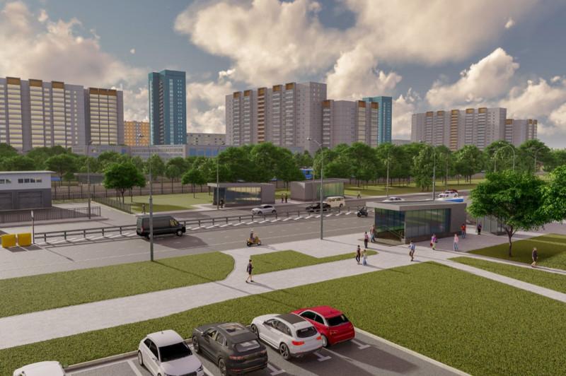 11. Проект подземного пешеходного перехода под Дмитровским шоссе в районе дома 25. 2019 год