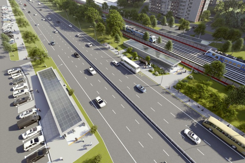 13. Проект подземного пешеходного перехода под Дмитровским шоссе в районе дома 29. 2019 год