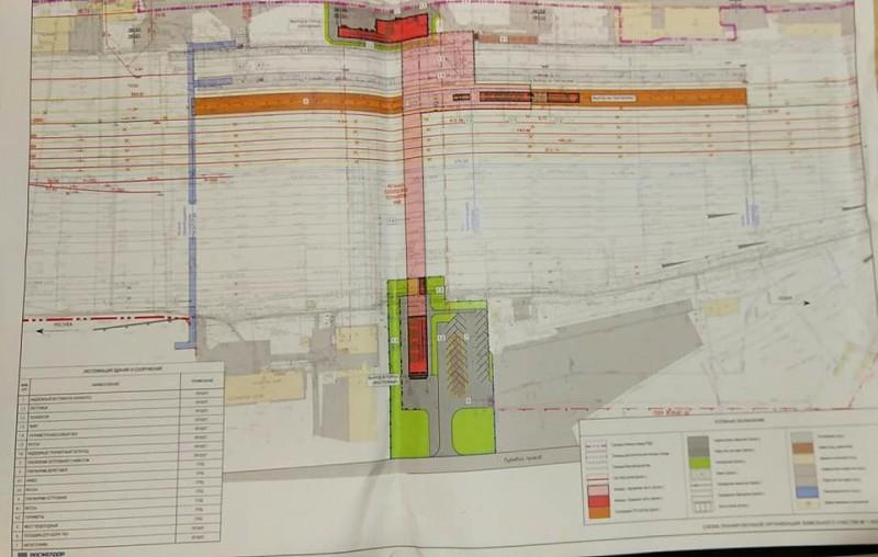 13. Проект реконструкции платформы Бескудниково. Общий план конкорса. 2020 год