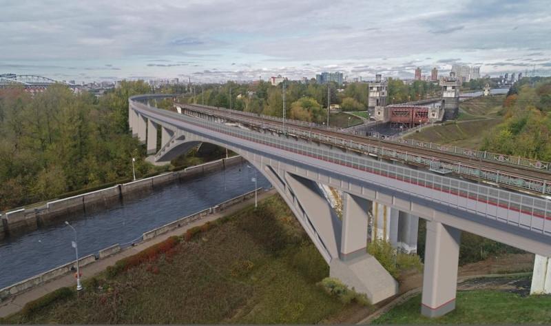 33. Проект железнодородного моста через канал имени Москвы. ООО «Интермост». 2020 год