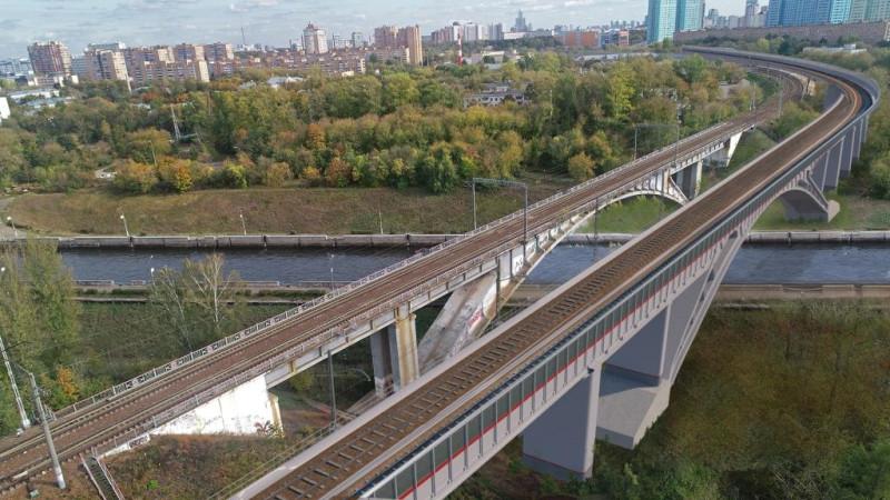 34. Проект железнодородного моста через канал имени Москвы. ООО «Интермост». 2020 год