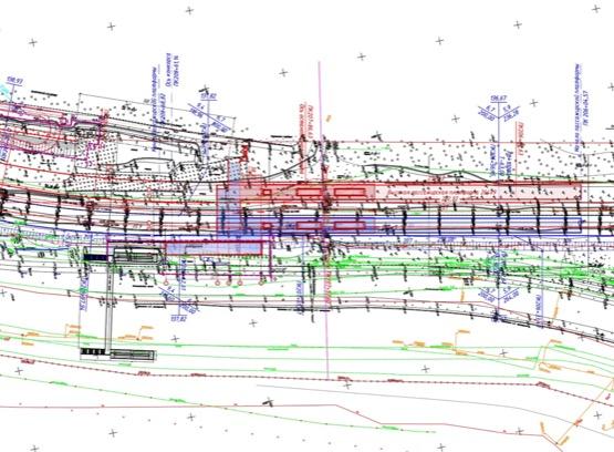 34. Проект платформы Пенягино. Вариант 3. План размещения. АО «Мосгипротранс»