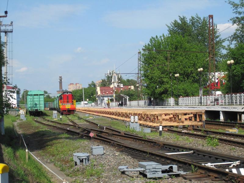 16. Платформа Балашиха. Фото — Ammendorf (форум «Наш Транспорт»). 2020 год