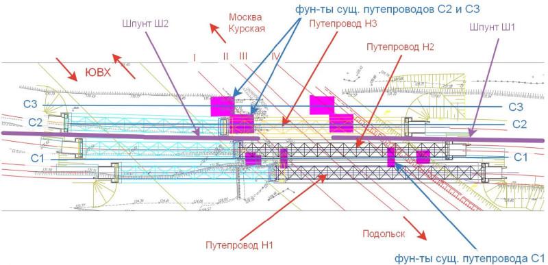 12. Проект переустройства путепроводов соединительных ветвей через пути МЦД-2. АО «Мосгипротранс». 2019