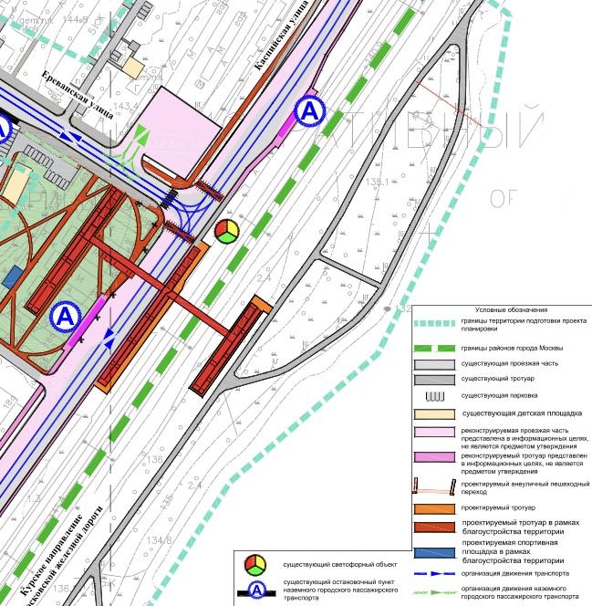 23. Проект подземного пешеходного перехода в районе пересечения улиц Ереванской и Каспийской. 2020 год