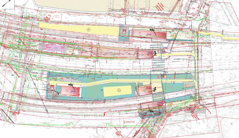 29. Проект реконструкции платформы Царицыно. АО «Мосгипротранс». 2019 год