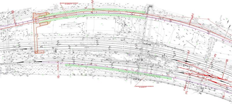 28. Проект реконструкции платформы Царицыно. 2017 (?) год