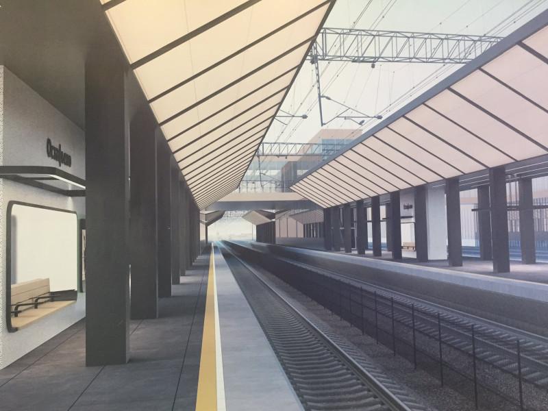 14. Проект платформы Остафьево. Вариант 4. Платформа. 2019 год