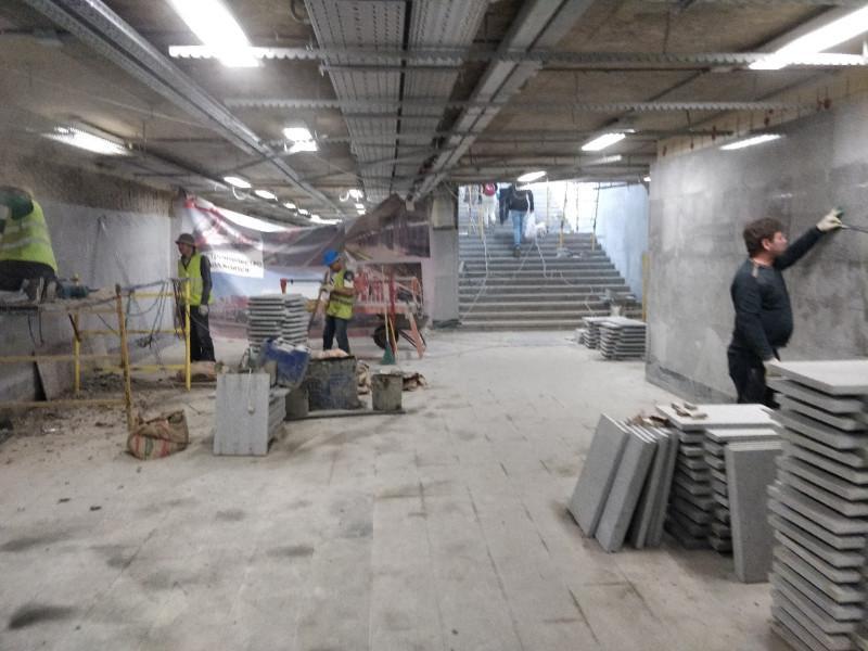 24. Подольск. Реконструкция пешеходного тоннеля. Фото — Антон Сабреков. 2020 год