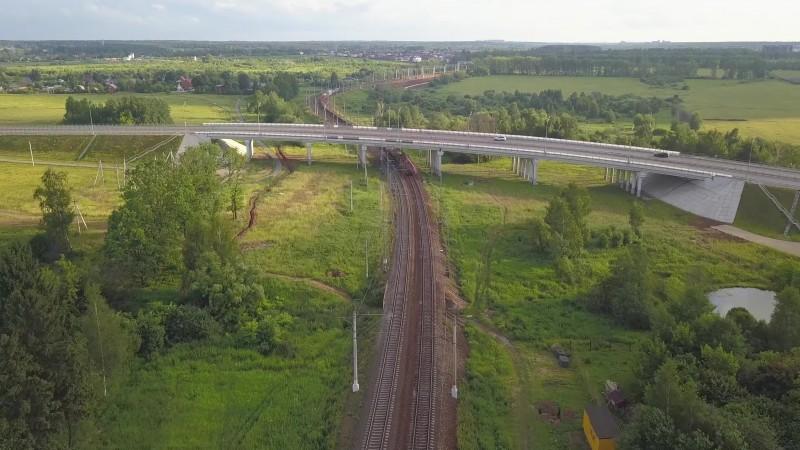 02. Мост на ПК336+80,90. Кадр из видео с канала «Притяжение». 2019 год.