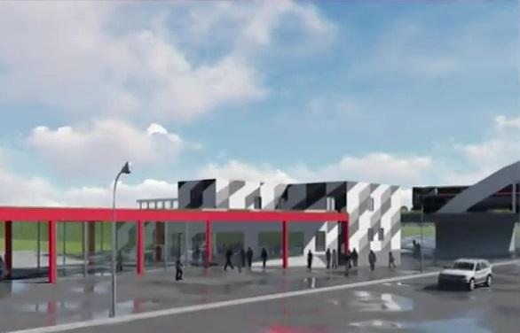 05. Проект платформы Минская. Кассово-турникетный павильон. 2020 год.