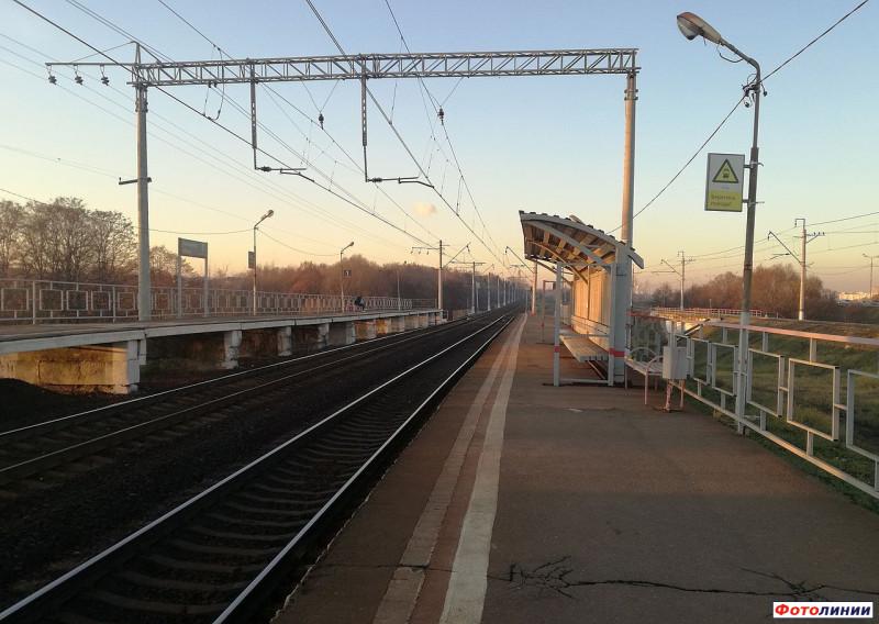 30. Платформа Калинина. Фото — Соня (сайт railwayz.info). 2019 год.