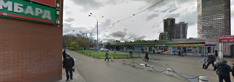 14. Территория к востоку от платформы Тимирязевская. Фото — карты Google. 2016 год.