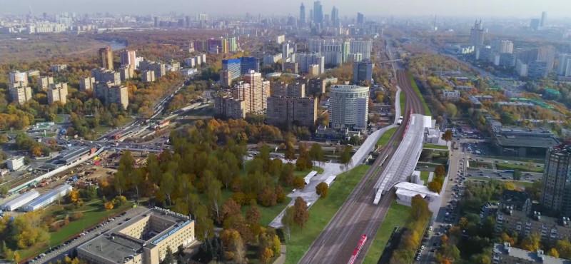 03. Проект платформы Кунцевская (Кунцево-1). 2019 год.