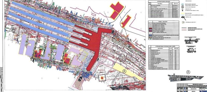 24. Проект реконструкции платформы Серп и Молот. План размещения. АО «Мосгипротранс». 2020 год.