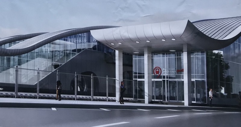 09. Станция Нахабино. Южный выход. АО «Мосгипротранс». 2019 год.