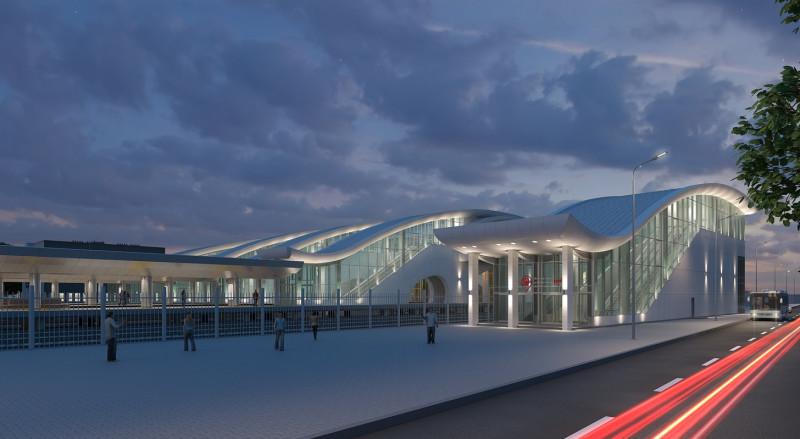 10. Станция Нахабино. Южный выход. АО «Мосгипротранс». 2019 год.