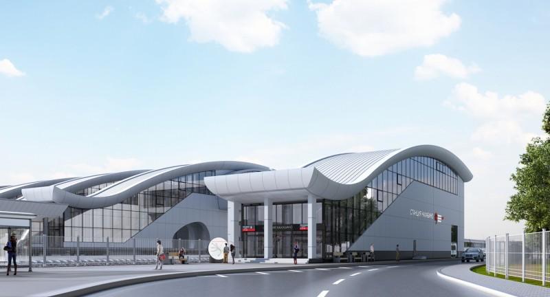 11. Станция Нахабино. Южный выход. АО «Мосгипротранс». 2019 год.