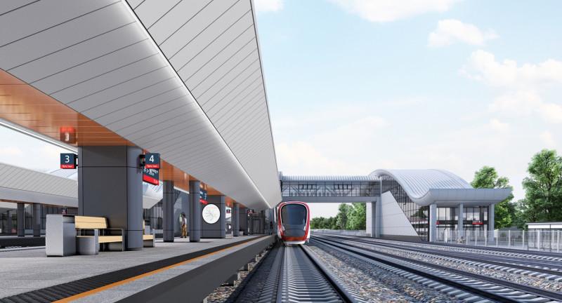 13. Станция Нахабино. Платформа. АО «Мосгипротранс». 2019 год.