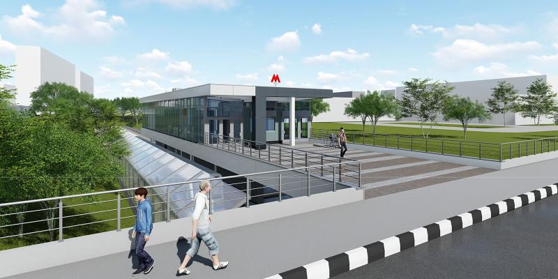 32. Проект реконструкции вестибюля станции «Багратионовская». Авторы: «Инжпроект». 2018 г.