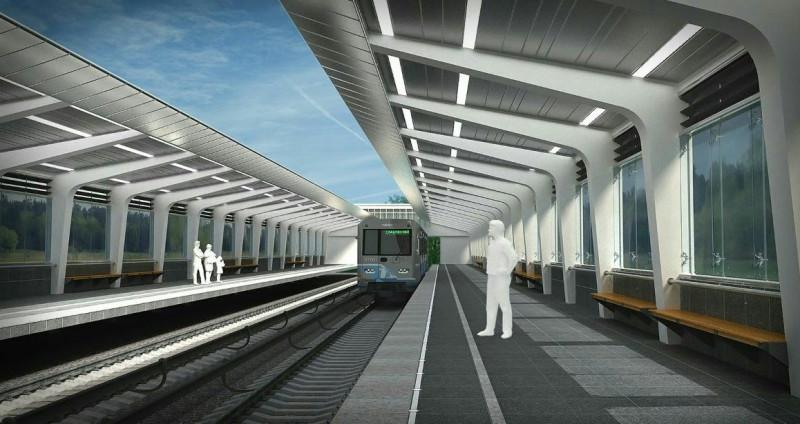 41. Проект реконструкции платформы станции «Фили». Авторы: «Инжпроект». 2017 г.