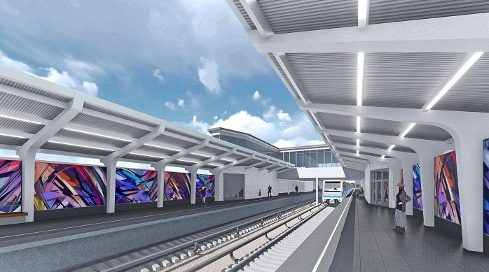 42. Проект реконструкции платформы станции «Фили». Авторы: «Инжпроект». 2017 г.