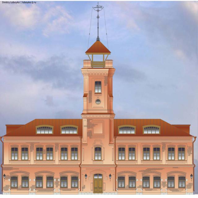 Проект реставрации здания пожарной части №1 в Самаре