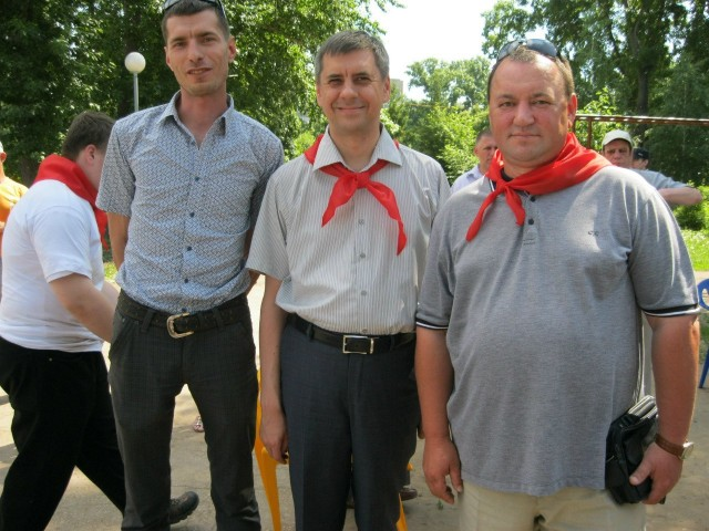 Сергей Андреев - пианер/скаут