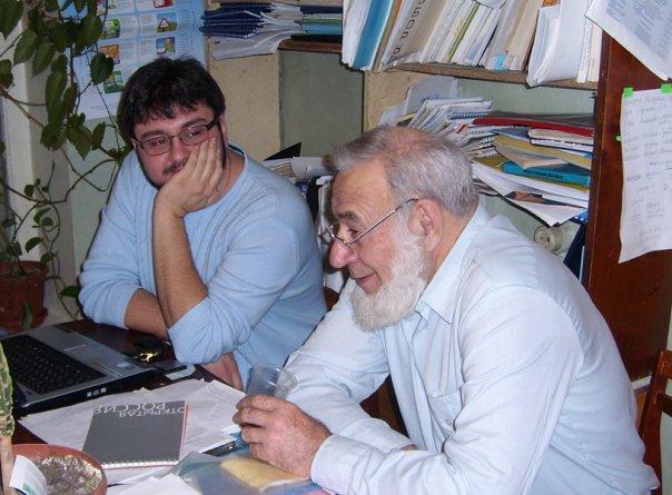 Юрий Никишин и Дмитрий Лобойко в ОПЦ. Январь 2008 года.