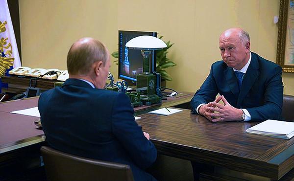 Меркаушкин и Путин