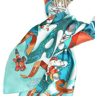 Silk hand rolled scarf