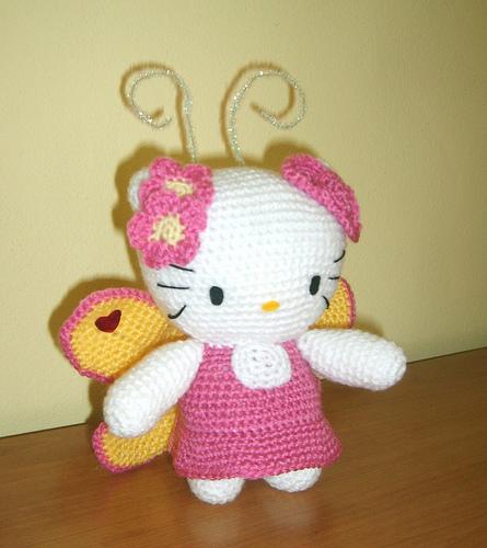 Free Crochet Pattern Heart Shaped Baby Doll : Hello Kitty amigurumi patron - Imagui