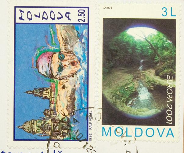 А это просто марки из Кишинева