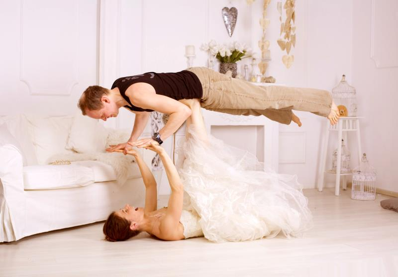 Yoga wedding