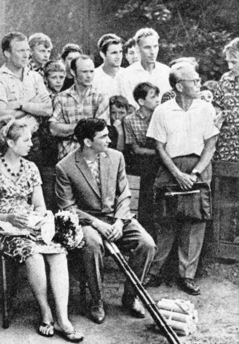 городки_Быковский на чемпионате 1963 г