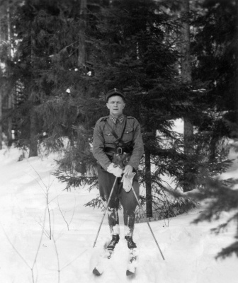 кюкка_Карпела на лыжах