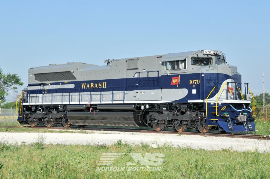 Norfolk Southern Heritge Locomotives