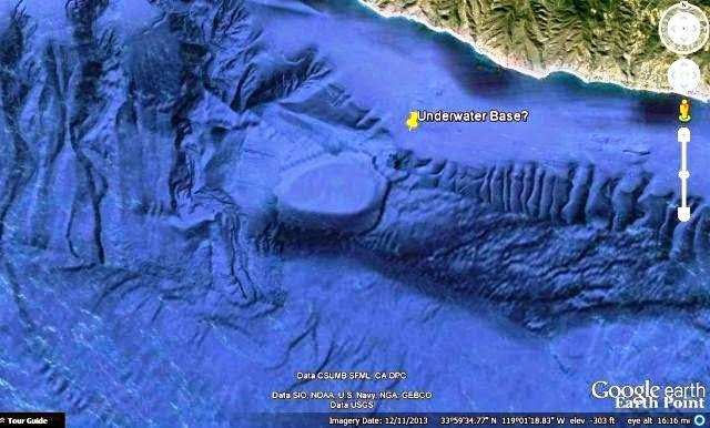 underwater base california