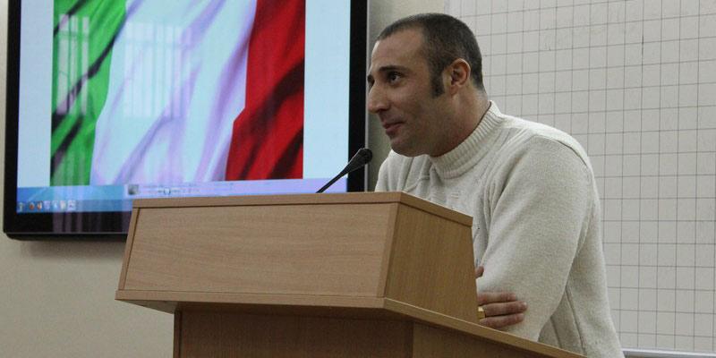 Андреа Пальмери. Луганск