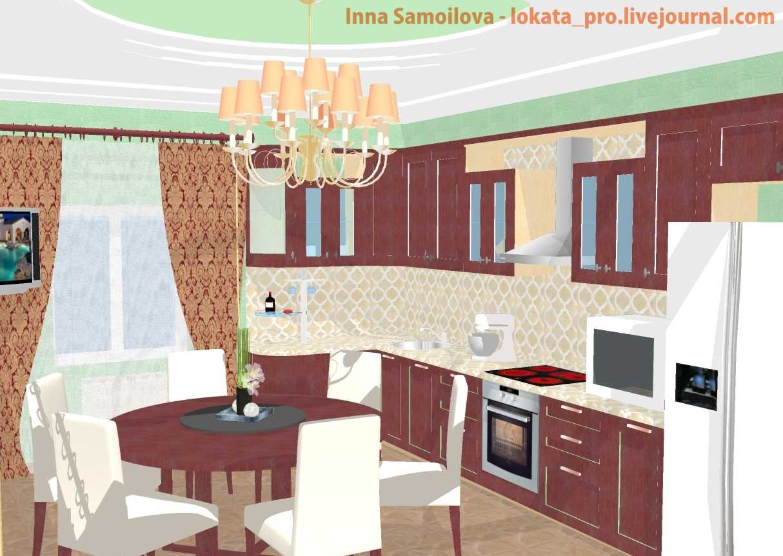 lokata_pro, Inna Samoilova, Кухня классика
