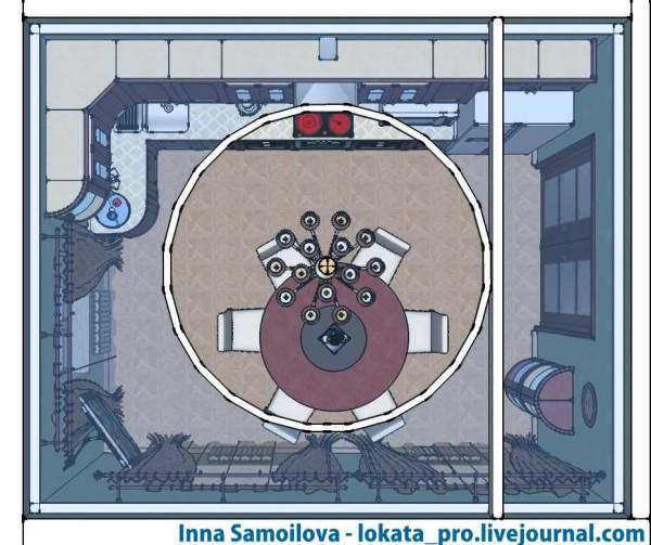 lokata_pro, Inna Samoilova, классическая кухня