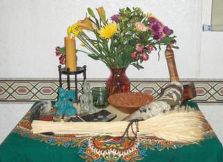Harvest 2009 Altar